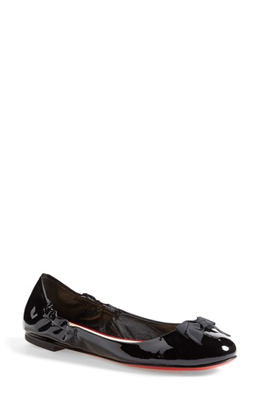 mens spiked sneakers - christian louboutin ares flat Black Leather | cosmetics digital ...