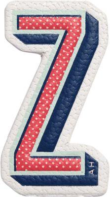 x Chaos Fashion 'Z' alphabet leather sticker