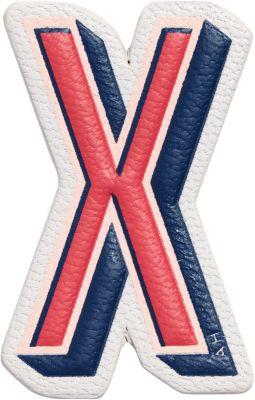 x Chaos Fashion 'X' alphabet leather sticker