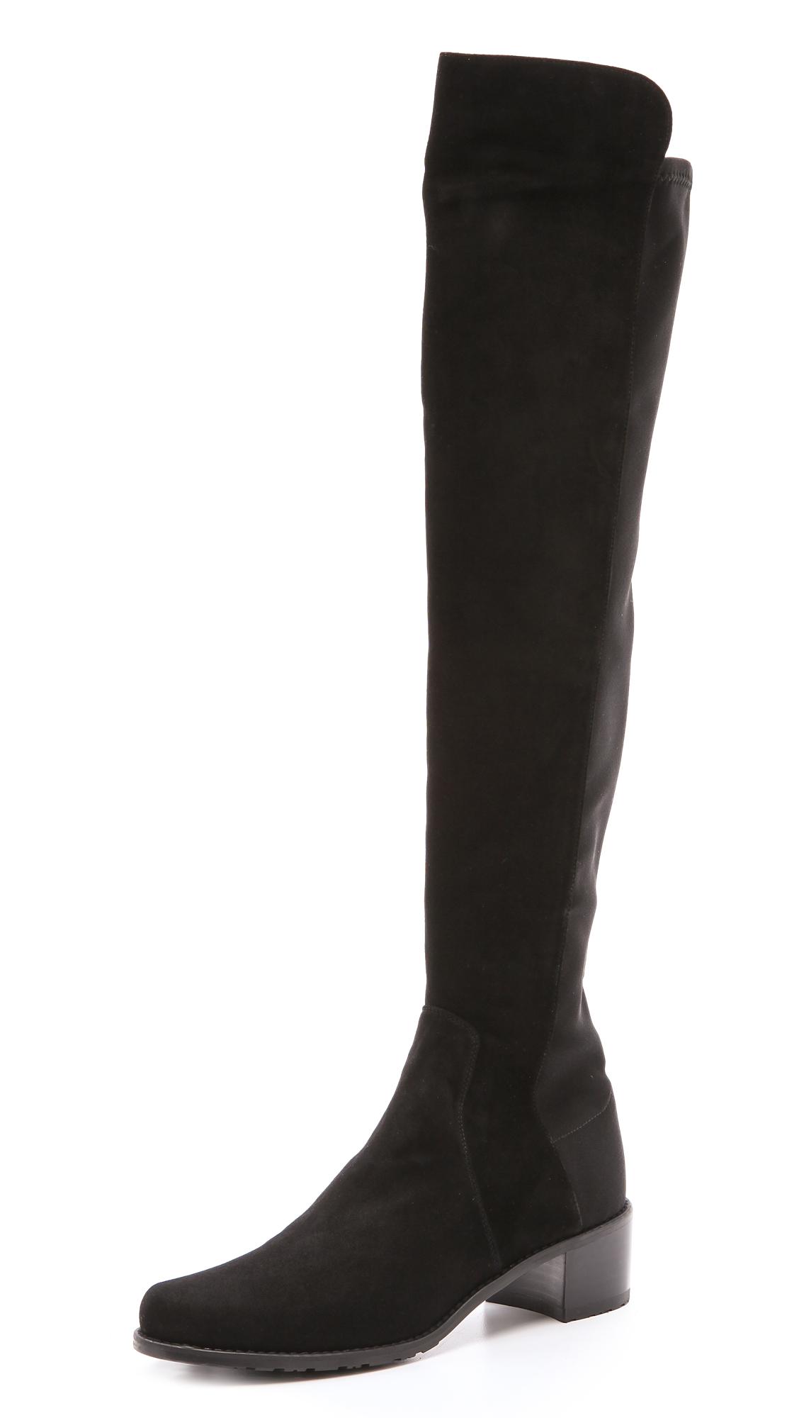 RESERVE STRETCH SUEDE BOOTS
