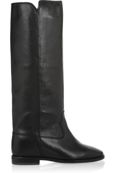 EXCLUSIVE TO MYTHERESA.COM - CHESS LEATHER BOOTS
