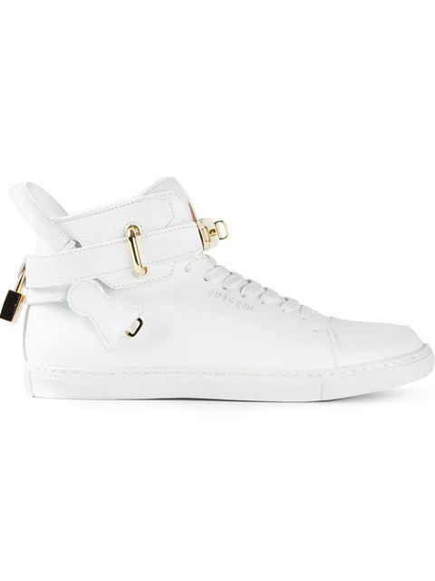 Cheap Price Womens Buscemi Key And Padlock Hi-Top Sneakers Cheap