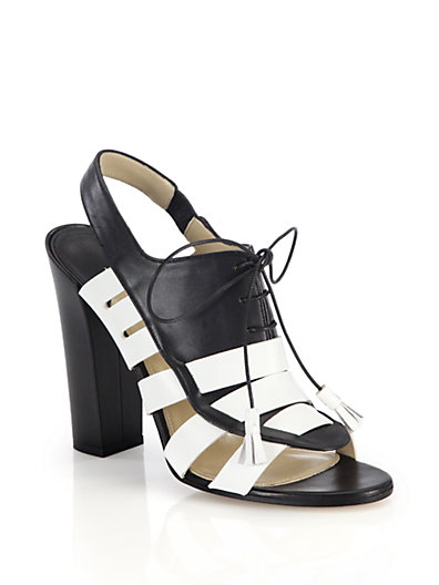 'Dimitros' Oxford Lace-Up Strappy Sandals