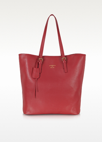 Large Saffiano Leather Tote