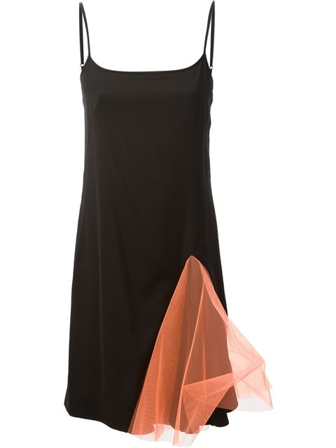 Flared Tulle Cami Dress
