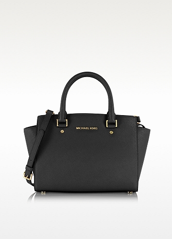 WOMEN'S LEATHER HANDBAG SHOPPING BAG PURSE SELMA