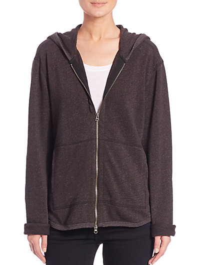 Atm Anthony Thomas Melillo Cottons French Terry Zip Hoodie