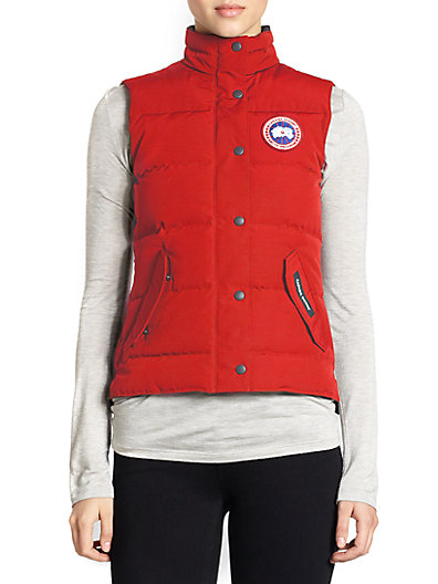 'Freestyle' Slim Fit Down Vest (Online Only)