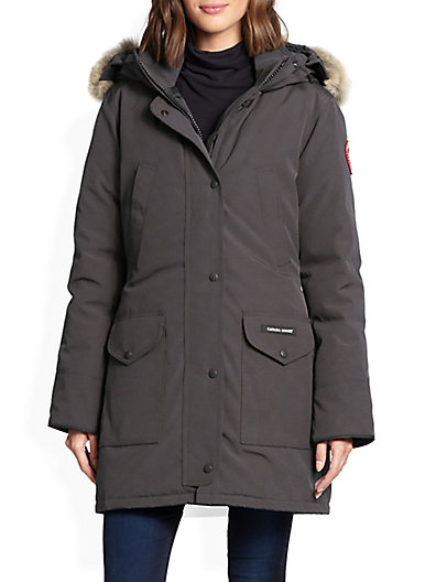 Fur-Trimmed Down-Filled Trillium Parka