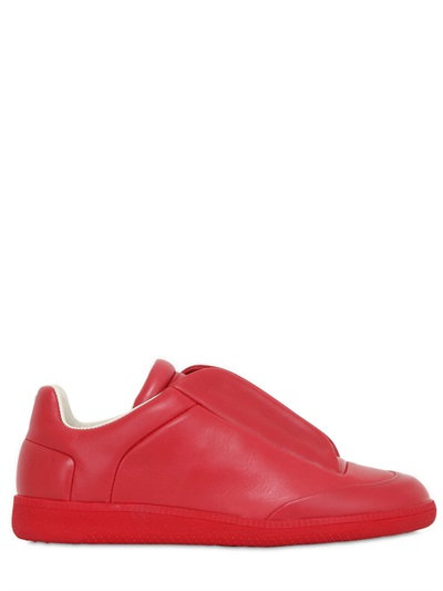 FUTURE SOFT LEATHER SNEAKERS, BRIGHT RED