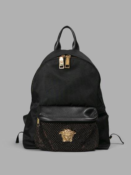 Swarovski Studded Medusa Backpack