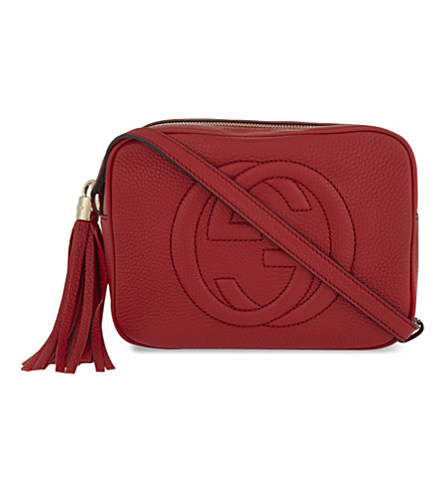 SOHO SMALL LEATHER CROSS-BODY BAG