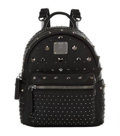 'X Mini Stark - Bebe Boo' Studded Leather Backpack