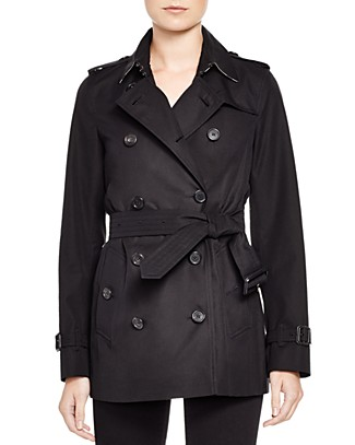 The Kensington Short Heritage Trench Coat
