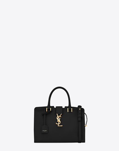 CABAS YSL SMALL IN SMOOTH LEATHER