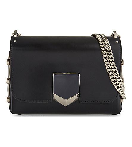 Lockett Petite leather shoulder bag