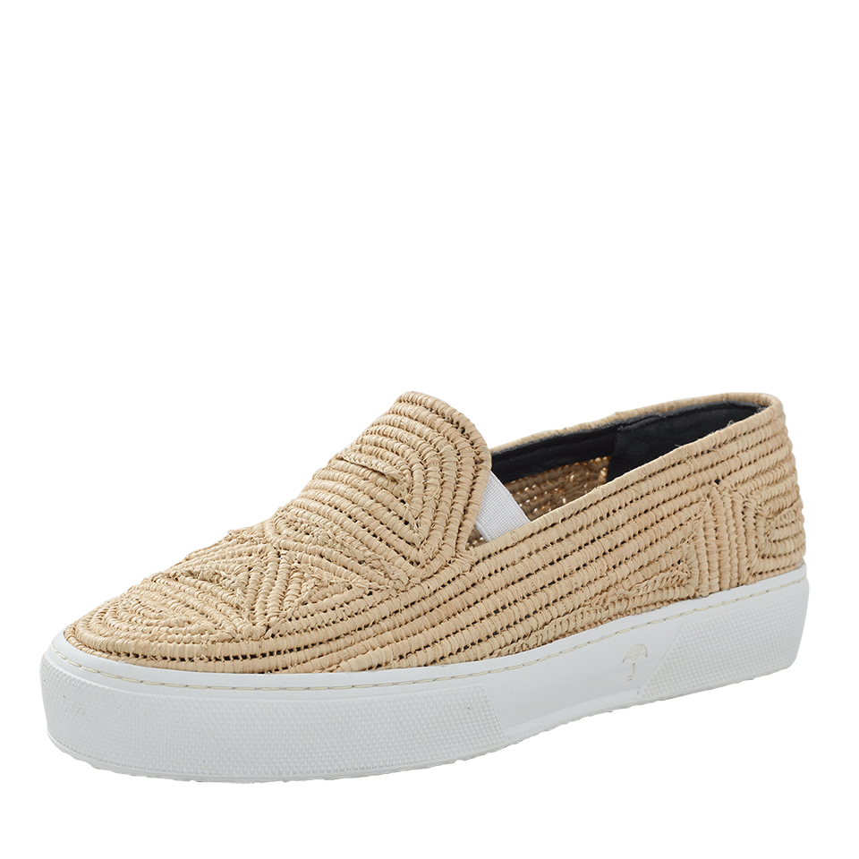 Tribal Raffia Sneakers