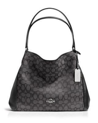 Edie Shoulder Bag 31 in Signature Jacquard