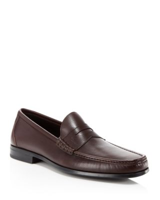 DINARD LEATHER PENNY LOAFERS