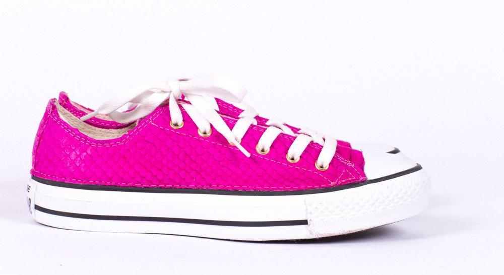 TAXIDERMY Custom Hot Pink Python Chucks