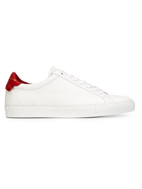 Urban Street Knots Leather Low-Top Sneakers