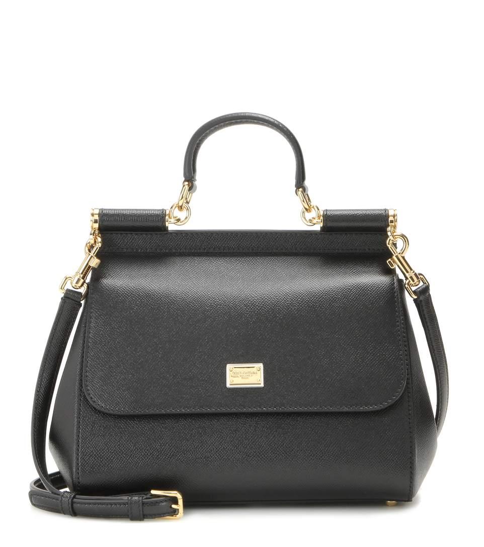 Miss Sicily Medium Leather Shoulder Bag