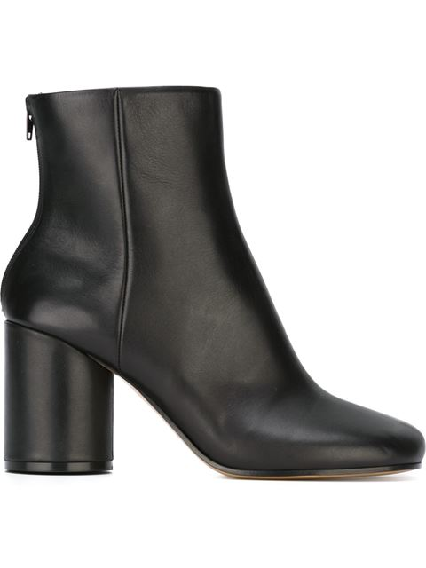 Tabi split-toe leather ankle boots