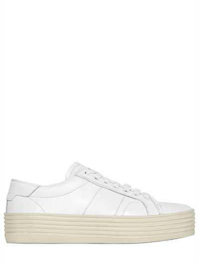 SIGNATURE COURT CLASSIC SL/39 PLATFORM SNEAKER IN OFF WHITE LEATHER