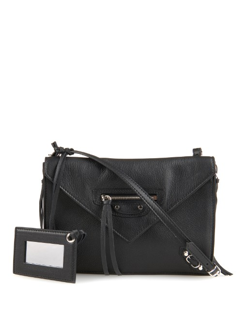Papier Classic Zip-Around Leather Cross-Body Bag