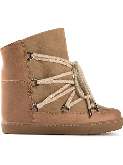 Nowles shearling-lined après-ski boots
