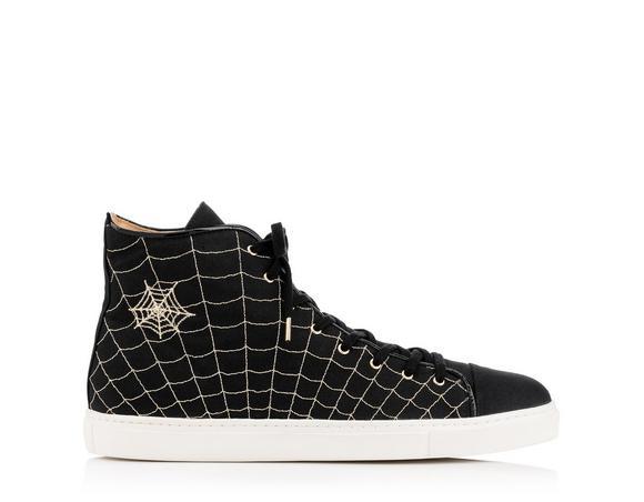 'Web' hi-top sneakers