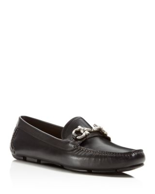 PARIGI 1 GANCINI LEATHER LOAFER, BLACK
