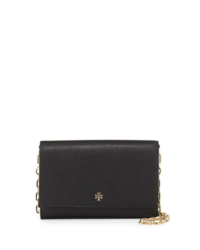 'Robinson' saffiano leather chain wallet