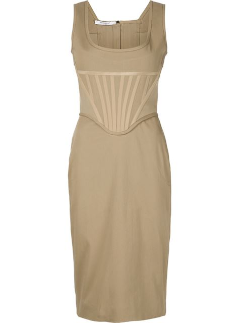 FITTED BUSTIER DRESS