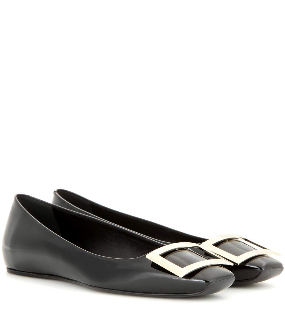 Trompette Ballerinas in Patent Leather