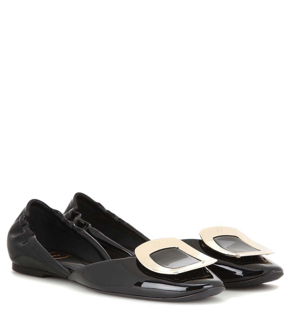 DORSAY PATENT LEATHER BALLERINAS