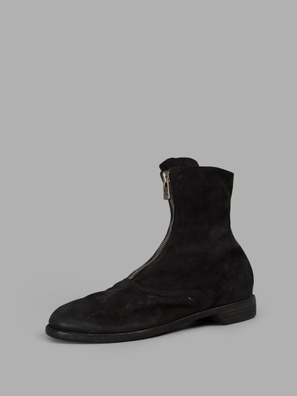 FRONT ZIP ARMY BOOTS