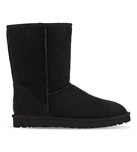 Classic ll Tall sheepskin and suede boots
