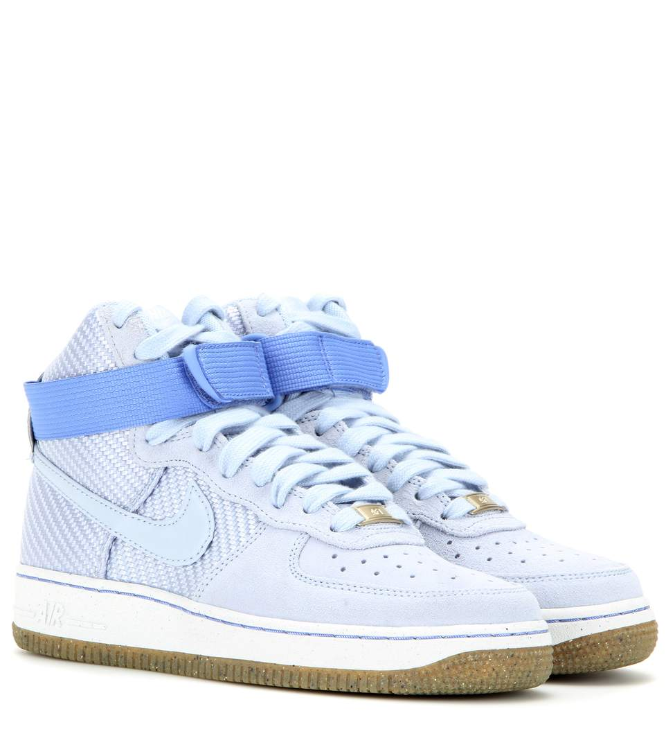 Airforce 1 Suede High Top Sneakers