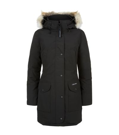 TRILLIUM DOWN-QUILTED FUR-TRIMMED PARKA