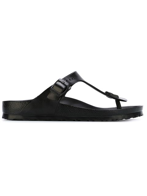buckled T-bar sandals