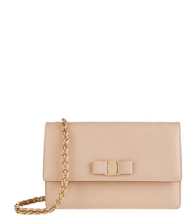 Vara Score Ginny Leather Shoulder Bag