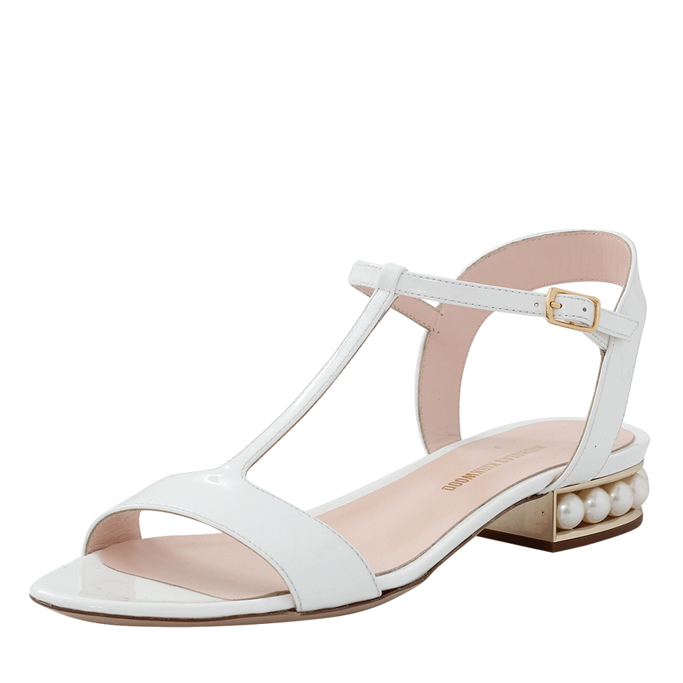 Casati embellished patent-leather sandals