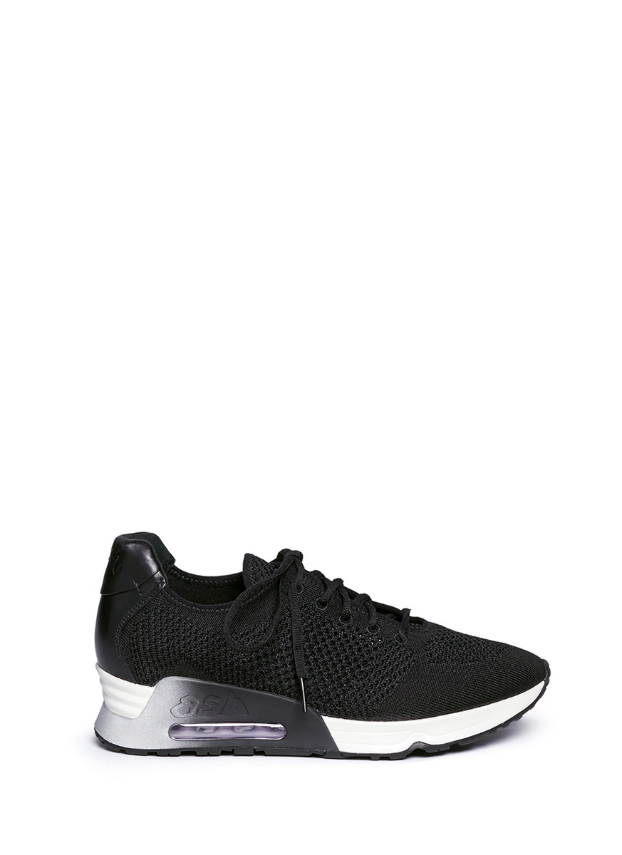 'Lucky' mix knit sneakers