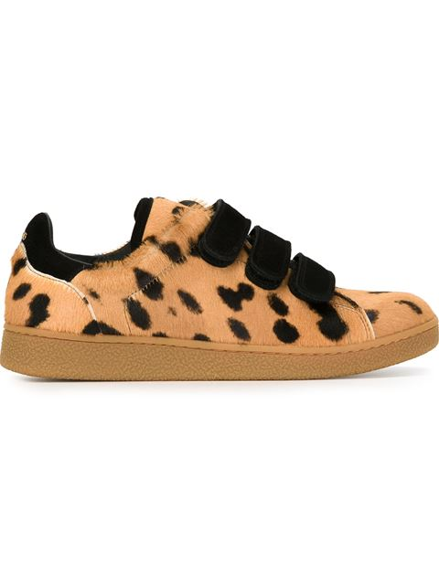 J ©R ME DREYFUSS PONY HAIR AND SUEDE SNEAKERS