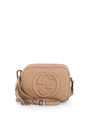Soho Disco textured-leather shoulder bag