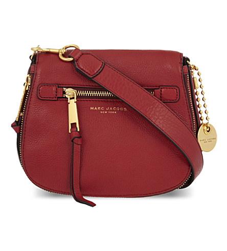 'Small Recruit' Pebbled Leather Crossbody Bag