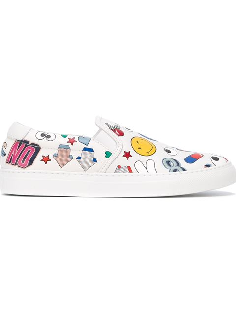 'ALL OVER STICKERS' SNEAKERS