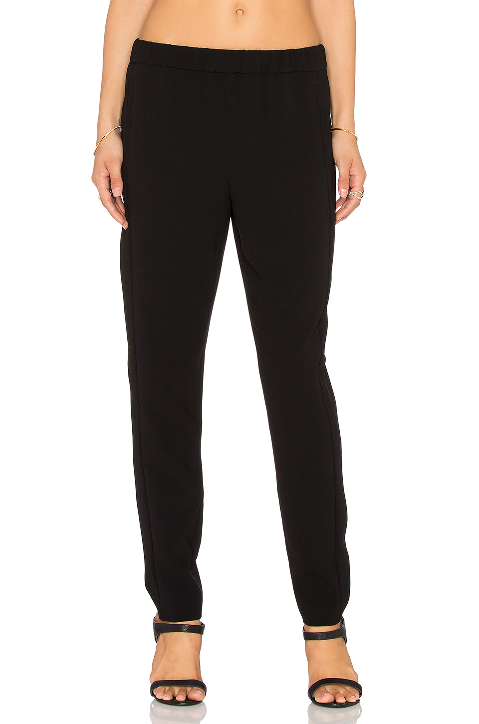 SHAWN STRETCH-JERSEY LEGGINGS