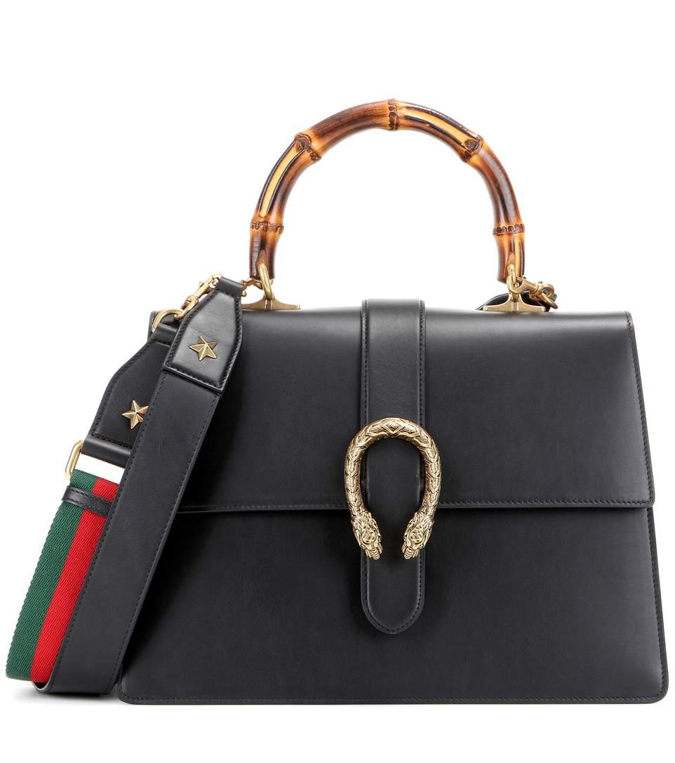 Dionysus Large leather shoulder bag